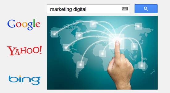 marketing digital e as ferramentas de buscas