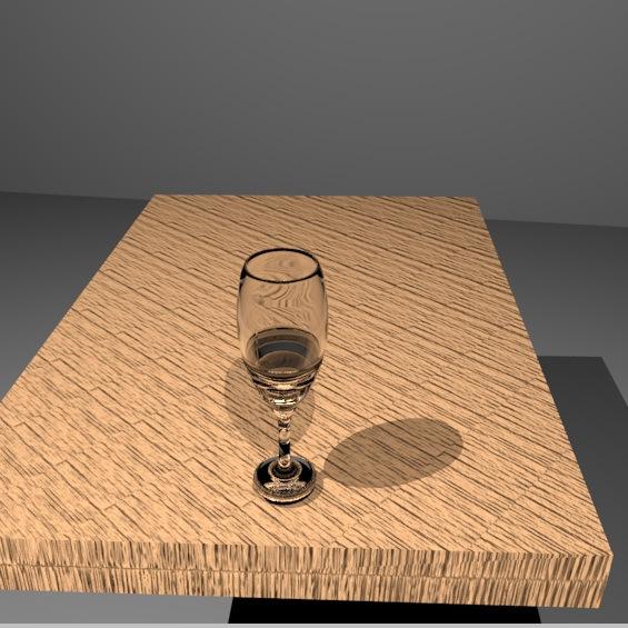 Imagem sintética gerada em computação gráfica