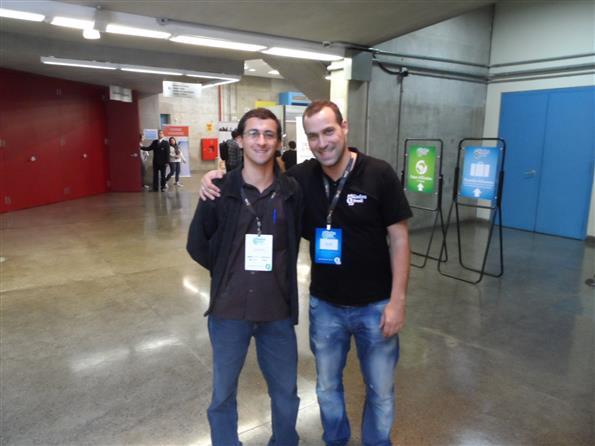 Eu e o Paulo Faustino