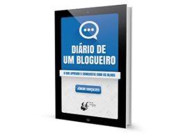"""livro """"Diário de um Blogueiro"""""""