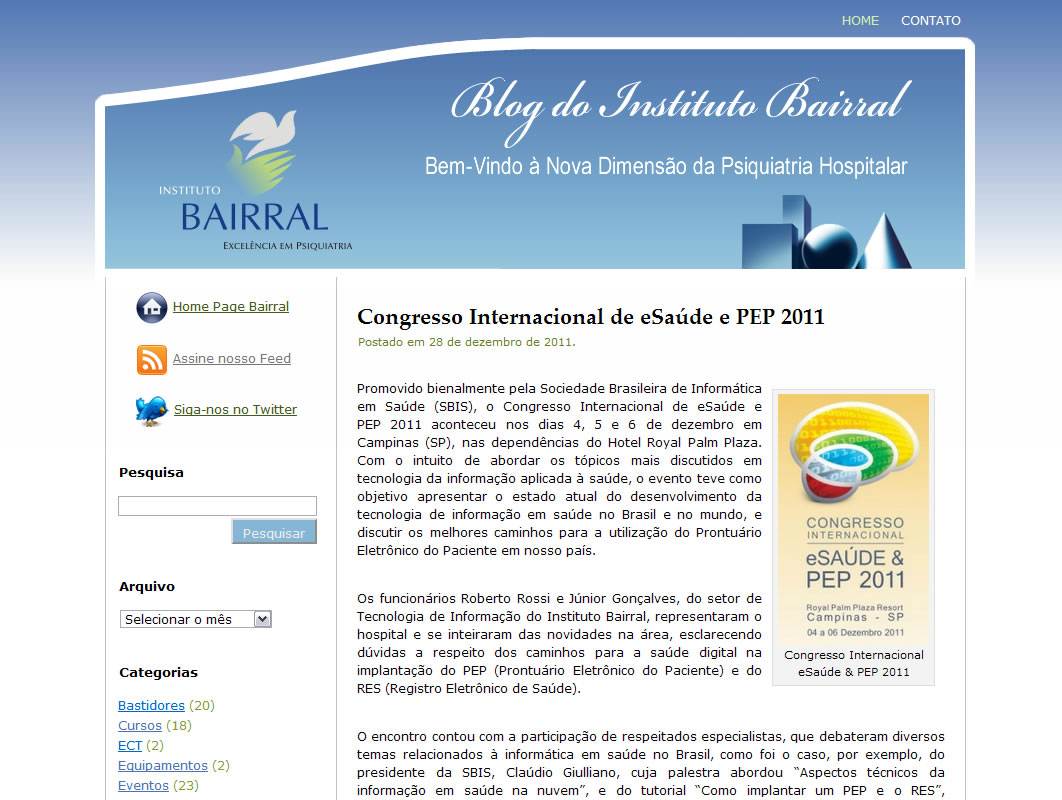 Blog do Instituto Bairral