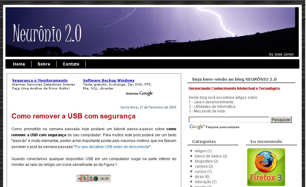 Blog Neurônio 2.0 - Terceira Versão