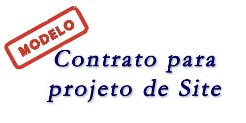 Modelo de Contrato para Site